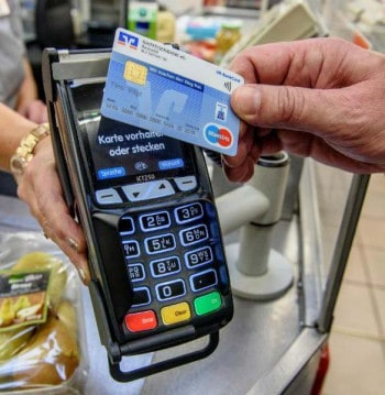 Bald auch bei den Sparkassen: Zahlen mit girocard kontaktlosBVR