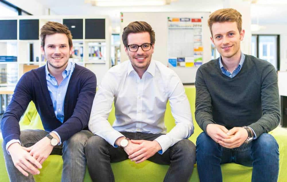 Barzahlen Geschäftsführer: Achim Bönsch, Sebastian Seifert und Florian SwobodaBarzahlen.de