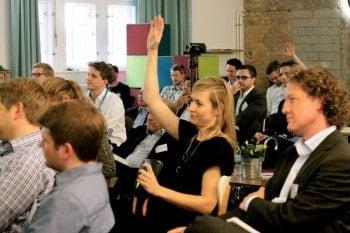 Im vergangenen Jahr brachte flexperto bereits Startups und Versicherungen im Berliner hub:raum zusammen. Digisurance