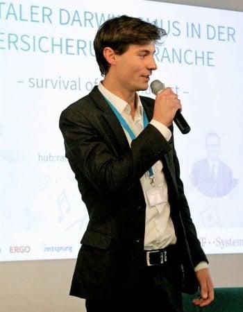 Felix Anthonj, CEO und Gründer der flexperto Digisurance