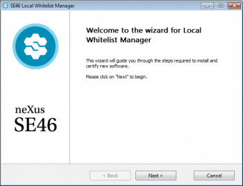 "der ""Local Whitelist Manager""neXus"