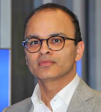 Ajay Vij, Vizepräsident und Head of Financial Services in Europa bei InfosysInfosys