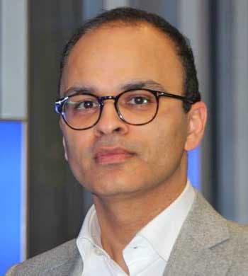 Ajay Vij, Vizepräsident und Head of Financial Services in Europa bei InfosysInfosys