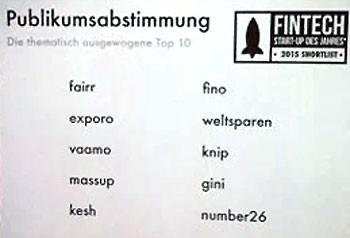 Die Leser von Payment&Banking wählten aus über 180 FinTechs die 10 interessantesten.itfm