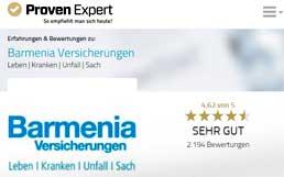 provenexpert-Barmenia-258