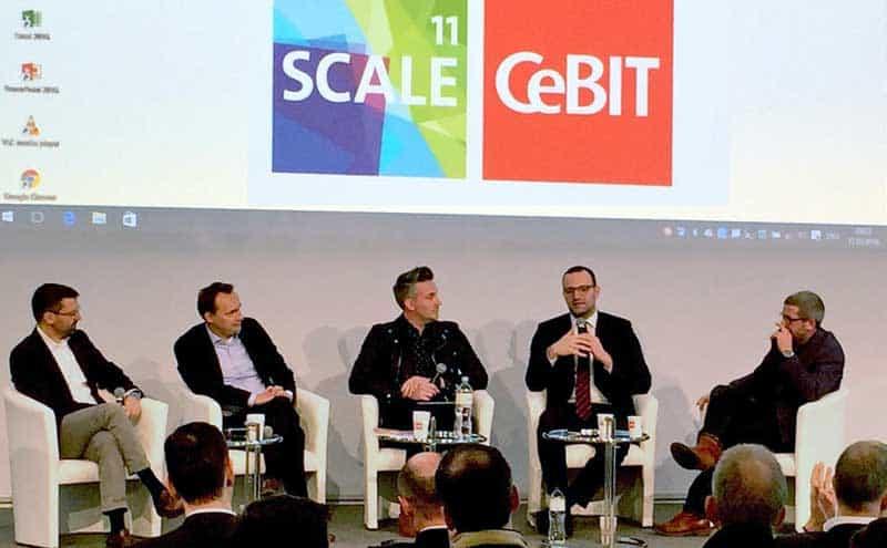 Das CeBIT-FinTech & Banken-PanelBdB