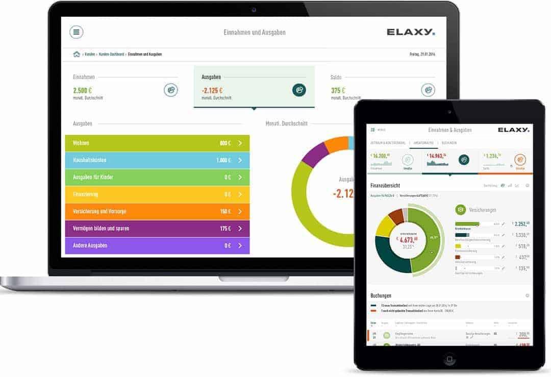 Die neue REST-API von Elaxy soll die Einbindung von PFM-leistungen in eigenen Applikationen massiv erleichternElaxy