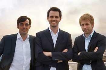 Die Giromatch-Gründer: Robin Buschmann, Daniel Conradt, Viktor KrausGiromatch