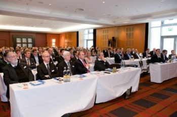 Das Plenum des CIBI Innovationstag 2016 am 10.03.2016 im Le Méridien in Münchenibi research
