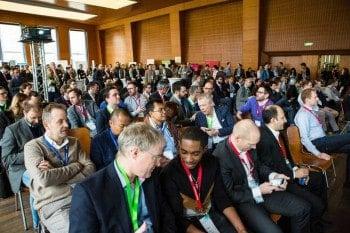 Volles Haus: 600 Teilnehmer.Dan Taylor (Heisenberg Media)