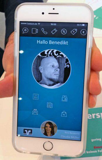 Yppster - der Prototyp einer neuartigen VR-Banking-App inclusive P2P-Payment.