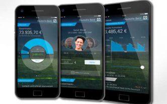 Eine der derzeit schicksten Banking-Apps hat die Deutsche BankDeutsche Bank