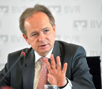 Gerhard Hofmann, Vorstand des BVRBVR