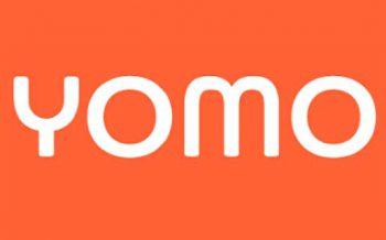 Farblich wechselndes Yomo-LogoYomo