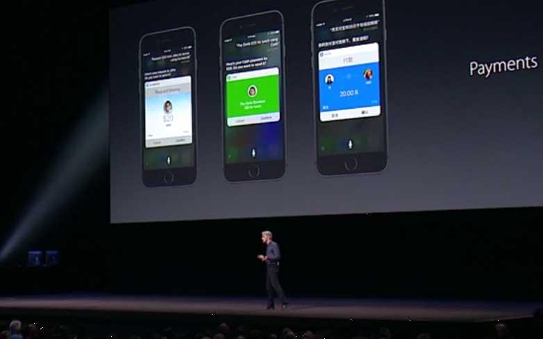 Payment wird in Zukunft per 'Siri'-Assistent möglich seinApple