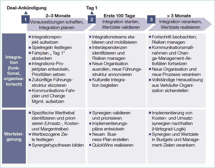 Idealtypisches PMI-Framework Quelle: Dr. Juan Riegall & Matthias Hornke, 2007