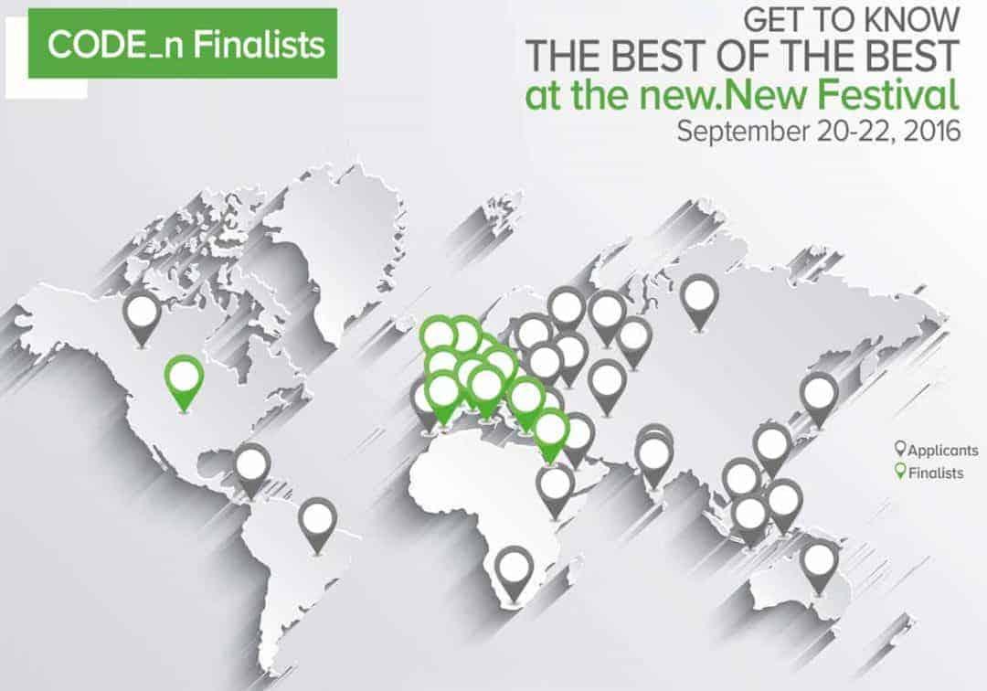 Alle Teilnehmer des CODE_n ContestsGFT
