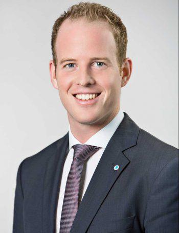 Michael Panitz (29) übernimmt die Vorstandsverantwortung unter anderem für die IT der compexxFinanz.die Bayerische