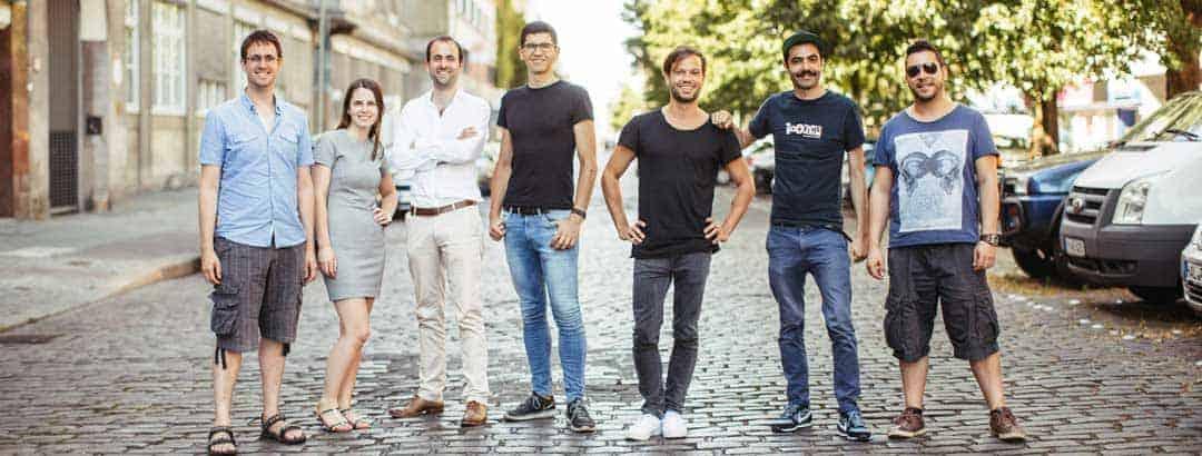 Das Kern-Team von Avuba
