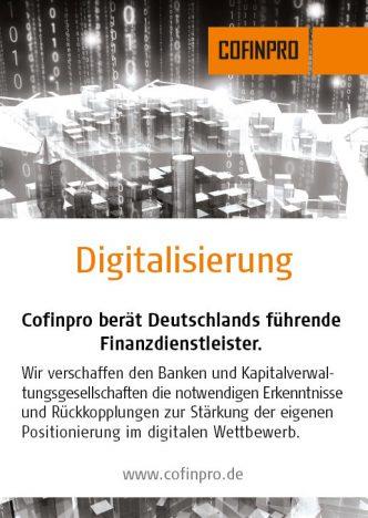 Cofinpro Digitalisierung