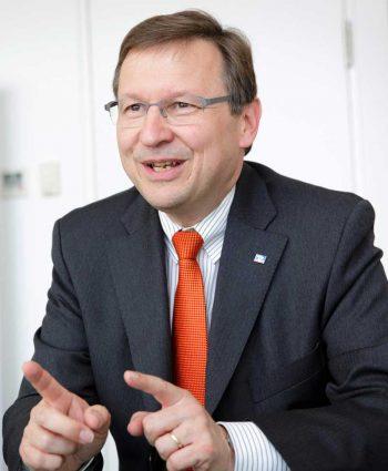 Dr. Andreas Martin, Vorstandsvorsitzender des BVRBVR