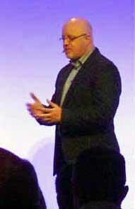 Brett King (bei Wincor Nixdorf in Istanbul 2014)ITFM