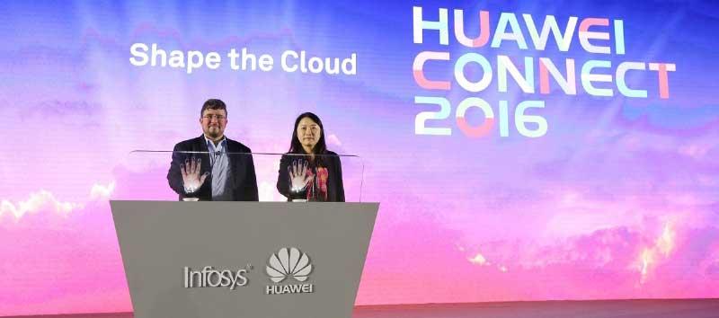 Huawei-Präsentation in ShanghaiHuawei
