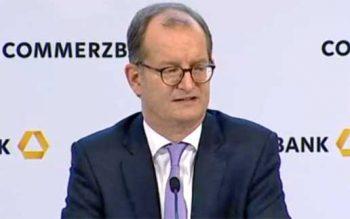 Martin Zielke, Vorstandsvorsitzender der Commerzbank