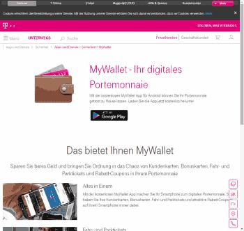 Das wars dann wohl ... @>Telekom-Website