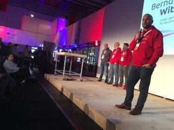 Bernd Wittkamp, Geschäftsführer der Starfinanz stellt den neuen s-hub vor: Den Incubator der Sparkassensymbioticon