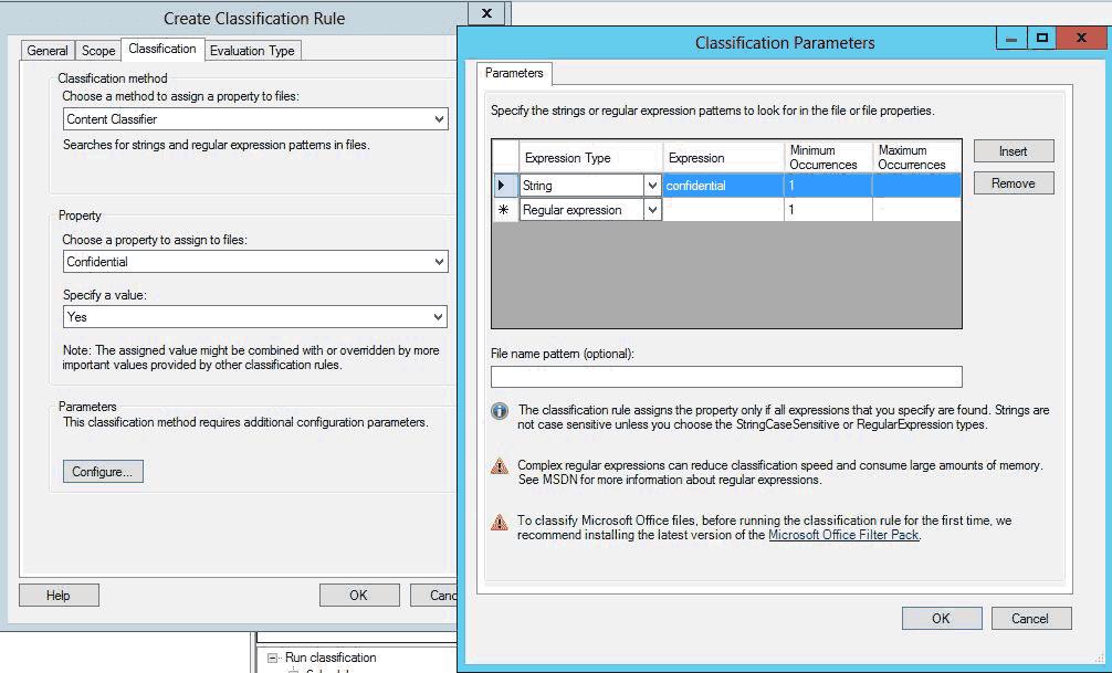 Anhand von bestimmten Ausdrücken lassen sich regelbasiert Datei-Eigenschaften zuweisenComparex