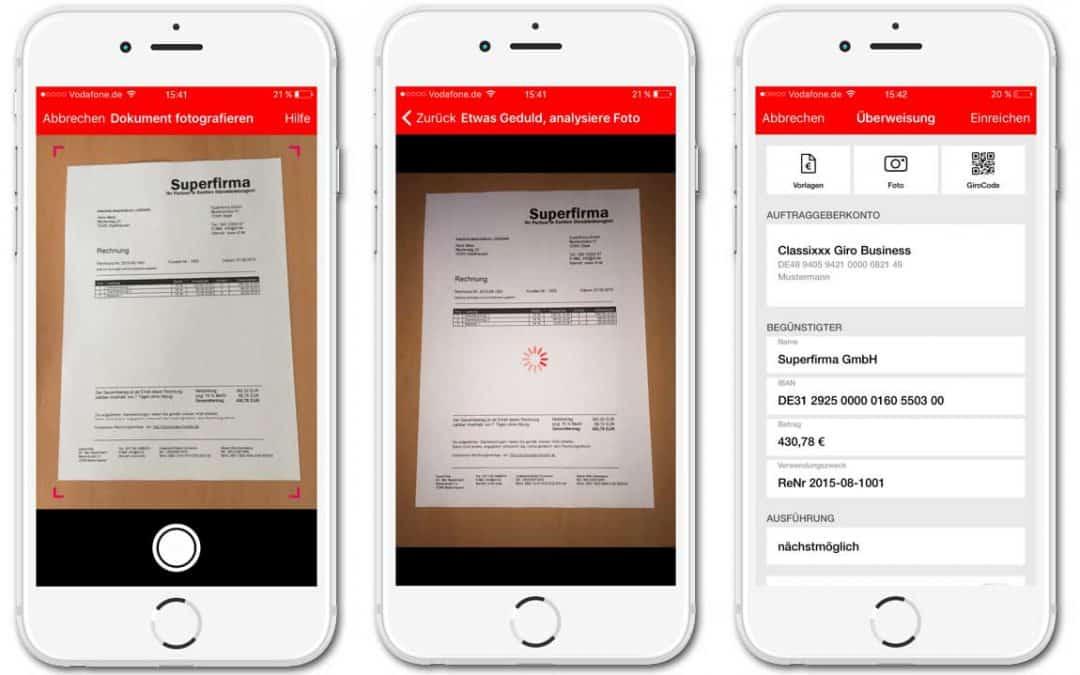 Gini-Dokumentenerkennung in der Sparkassen-AppGini