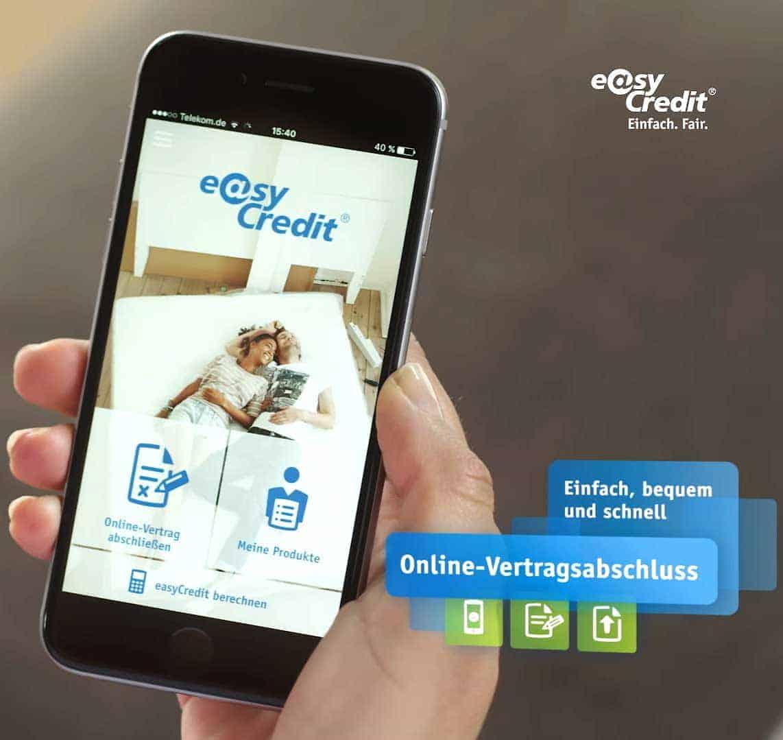 Teambank Stellt Auf Mobile First Um Easycredit Konsumentenkredit