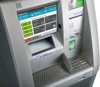 Weniger Banknoten vom Geldautomaten