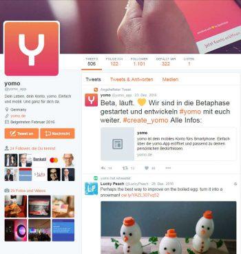 Yomo auf Twitter