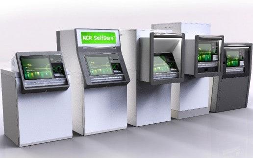 NCR Geldautomaten der Baureihe SelfServ 8XNCR