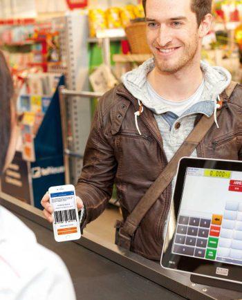 Bargeld im Supermarkt mitnehmen