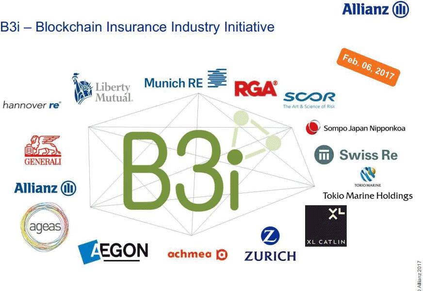 B3i Mitglieder<q>Allianz über Management Circle