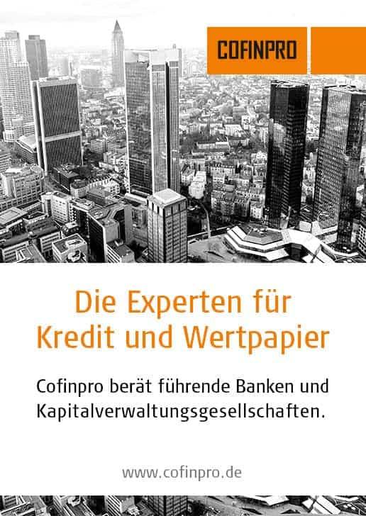 COFINPRO: Die Experten für Kredit und Wertpapier