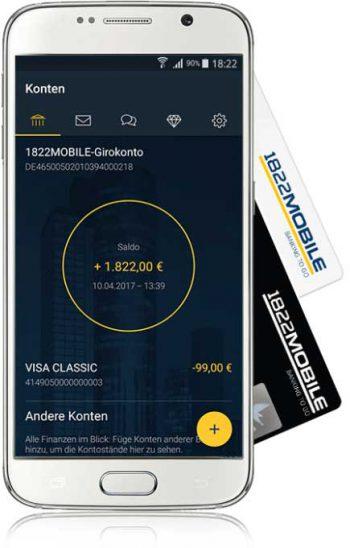 1822direkt fällt immer wieder durch moderne Apps und Partnerschaften auf