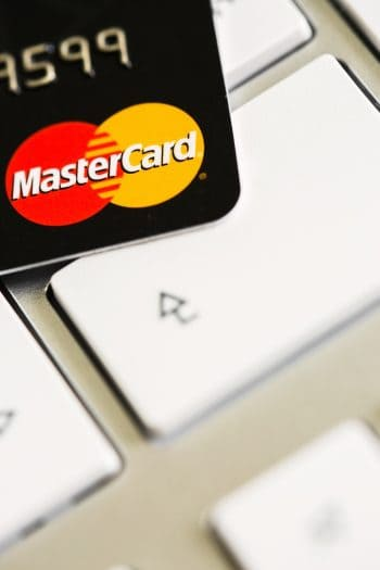 MasterCard Tastatur bigstock