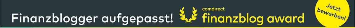 comdirect finanzblog award - Aufruf!