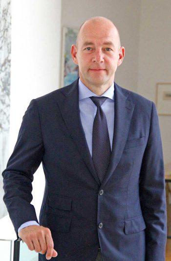Dr. Michael Stollarz, Vorsitzender der Geschäftsführung der DSV-Gruppe