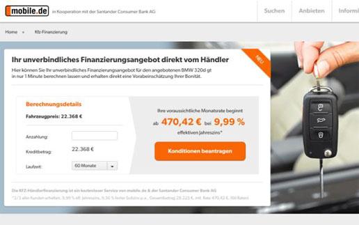 Ndgit Integriert Digitale Kreditstrecke Bei Mobilede Und Bietet