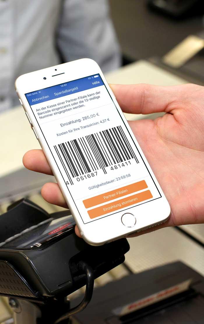 Banking im Supermarkt: Sparda Bank München erweitert per Barzahlen on