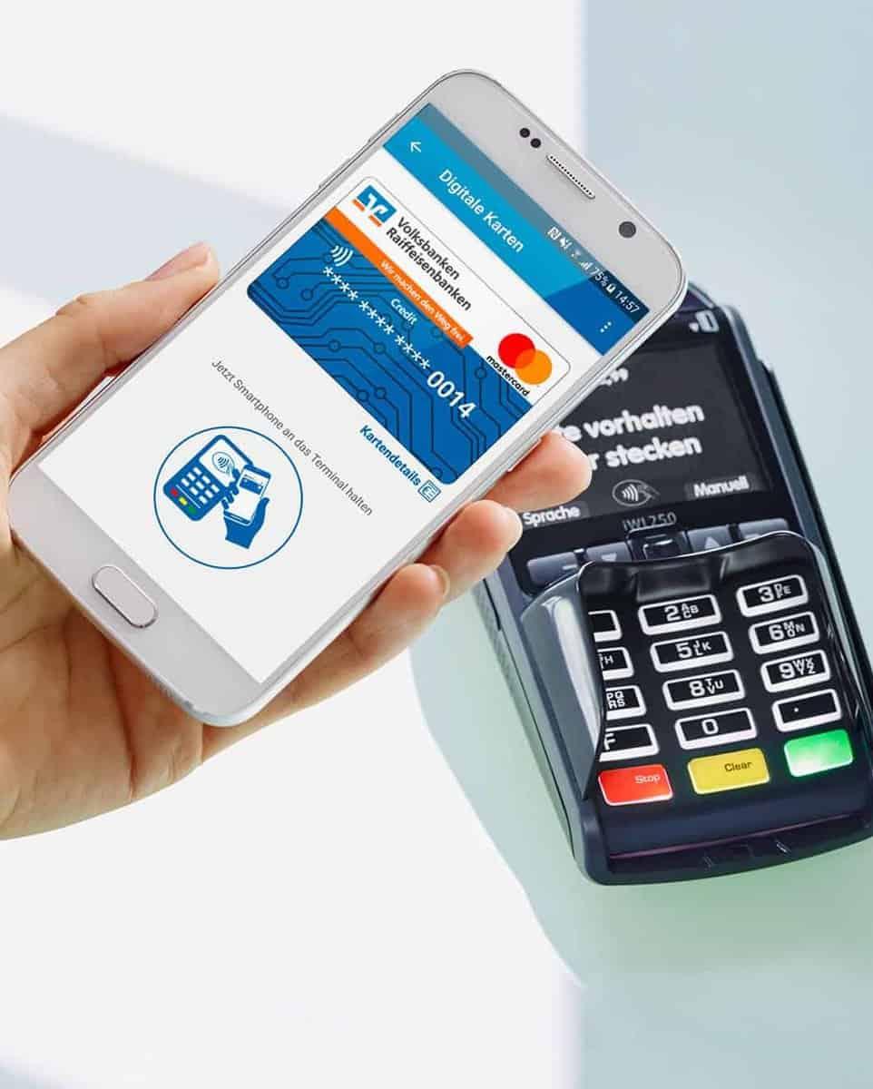 Bezahlen mit der VR-Bank-Wallet