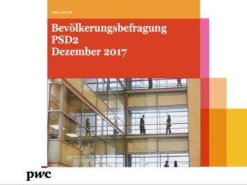 Befragung zur PSD2 von PwC
