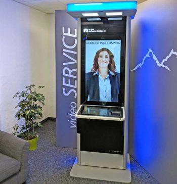 Der VideoService der VR Bank Kaufbeuren-Ostallgäu ist bereits produktiv in Betrieb<q>itfm</q>