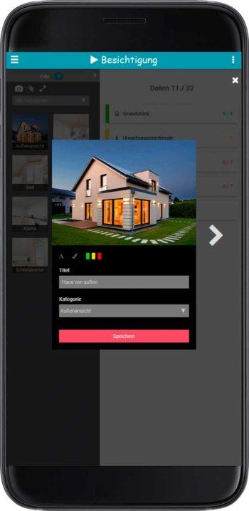 Immobilienbesichtigung per App