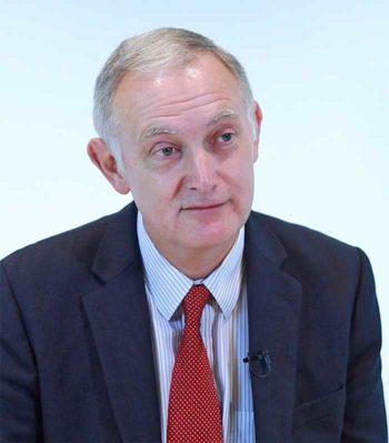 Harry Newman, Head of Banking bei SWIFT